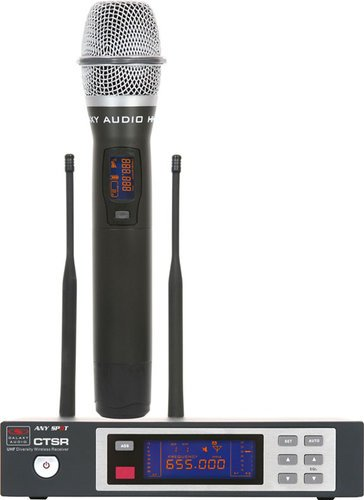 Galaxy Audio CTSR/HH85 Handheld Wireless System, L Frequency Range CTSR/HH85
