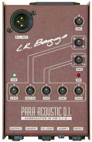 LR Baggs LRB-PARA-DI Para DI Acoustic Direct Box & Preamp with 5-Band EQ LRB-PARA-DI