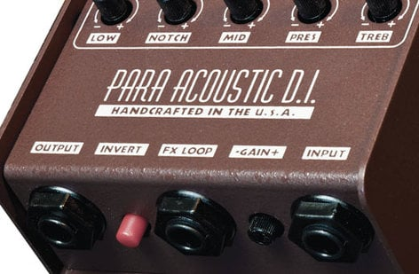 LR Baggs Para DI Acoustic Direct Box & Preamp with 5-Band EQ LRB-PARA-DI