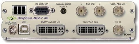 Ensemble Designs BEM-1  Mitto 3G/HD/SD Scan Converter  BEM-1