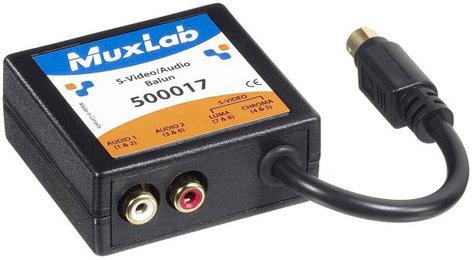 MuxLab 500017 S-Video/Audio Balun MUX-500017