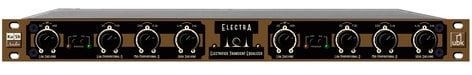 """Kush Audio Electra 19"""" Rack 4-Band Dual Channel Electrified Transient Equalizer ELECTRA-19"""
