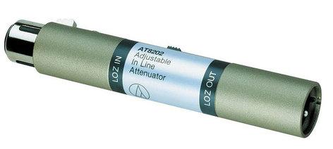 Audio-Technica AT8202 Adjustable In-Line Attenuator AT8202