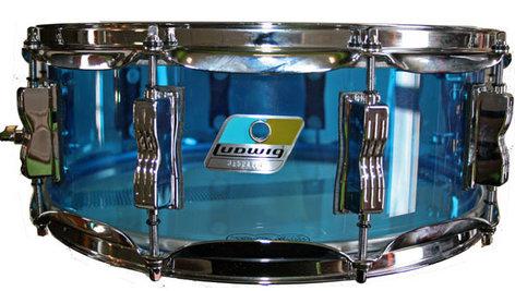 "Ludwig Drums LS901V 5"" x 14"" Vistalite Snare LS901VXX"
