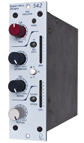 Rupert Neve Designs 542  500 Series Tape Emulator with Variable Silk/Texture 542