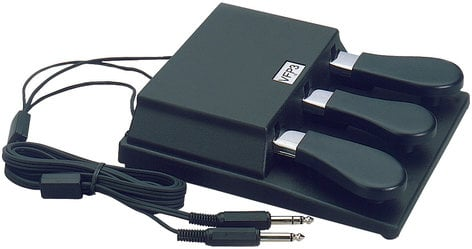 Studiologic VFP-3/10  Triple Piano-style Sustain Pedal VFP-3/10