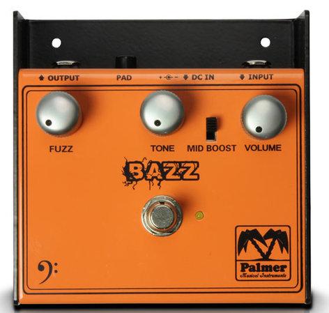 Palmer PEBAZ BAZZ Fuzz Effect Pedal for Bass Guitar PEBAZ