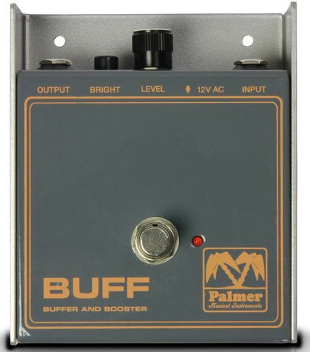 Palmer PEBUFF Buffer and Booster Preamp/Cable Driver Pedal PEBUFF