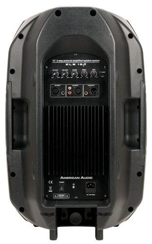 """American Audio ELS15A 15"""" 2-Way Powered Speaker in Black ELS15A"""