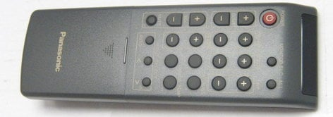Panasonic PUWX1270101 Panasonic Computer Monitor Remote PUWX1270101