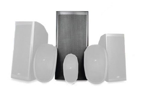 "Peavey 112M 12"" 2-Way Molded Enclosure Outdoor Speaker 112M"