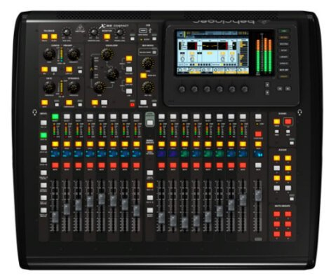 Behringer X32 COMPACT 40-Input 25-Bus Digital Mixing Console X32-COMPACT