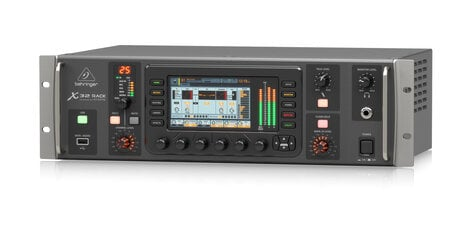 Behringer X32 RACK 40-Channel 25-Bus Digital Rack-Mount Mixer With 16 Mic  Preamps
