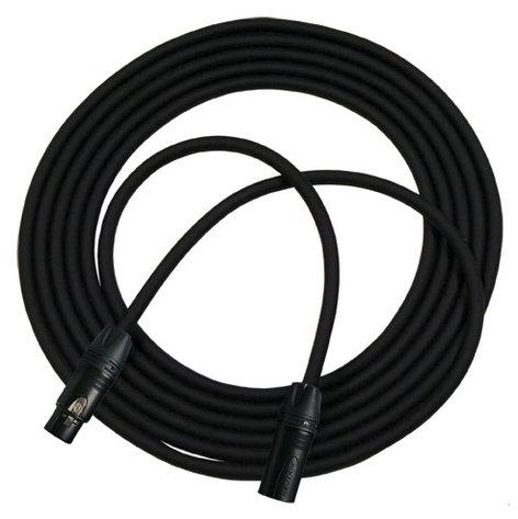 RapcoHorizon Music GPRO-10 Neutrik Black XX series XLRF-XLRM Microphone Cable, 10ft GPRO-10