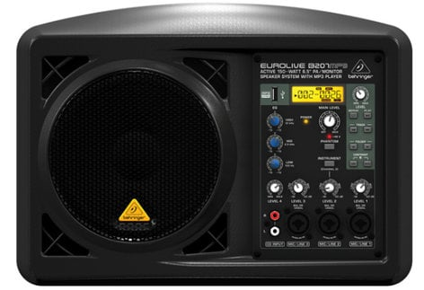 "Behringer B207MP3 150W 6.5"" Active PA Speaker B207MP3"