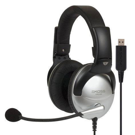 Koss SB/45 USB Communication Headset with USB Plug SB45-USB