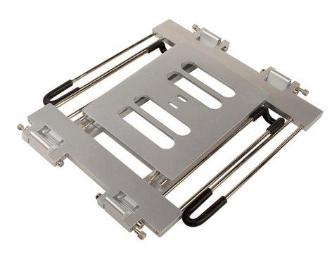 Ultimate Support JS-LPT400S  Aluminum Double-tier, Multi-purpose Laptop/DJ Stand JS-LPT400S