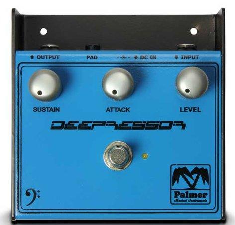 """Palmer PEBDP """"Deepressor"""" Compressor Effect Pedal for Bass Guitars PEBDP"""