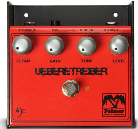 Palmer PEBUT Uebertreiber Distortion Pedal for Bass Guitar PEBUT