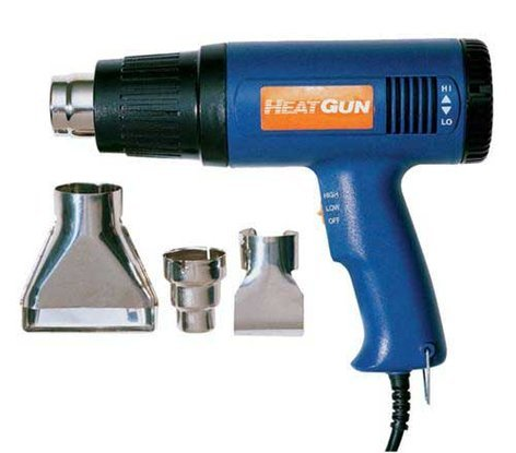 Paladin Tools PA1873  120V/1200W Variable Speed Heat Gun with 3 Nozzles PA1873