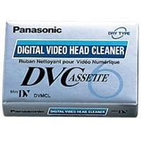 Panasonic PA-AYDVMCLW Advanced Mini HDV/DV/DVCAM Camera Cleaning Cassette PA-AYDVMCLW