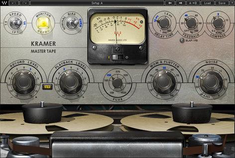 """Waves Kramer Master Tape 1/4"""" Reel-to-Reel Analog Tape Emulation Plugin MPXTDM"""