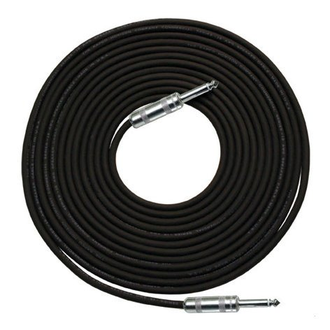 "RapcoHorizon Music R14-50 14 Gauge R Speaker Cable in Black, 1/4"" Connectors, 50ft R14-50"