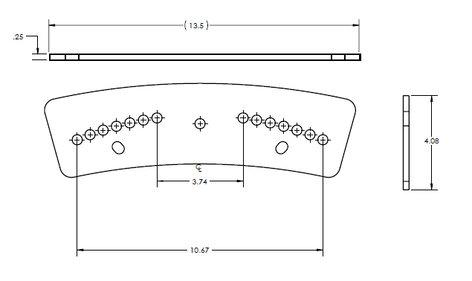 ATM/Adaptive Technologies FP-AM4212-2X1 Speaker Hanger Flyware FP-AM4212-2X1
