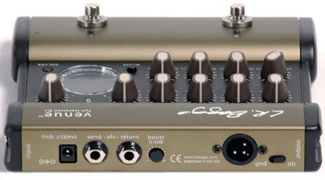 LR Baggs Venue DI Acoustic Direct Box / Preamp / Pedal with 5-Band EQ LRB-VENUE-DI