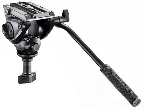 Manfrotto MVH500A Lightweight Pro Fluid Video Head with 60mm Half Ball MVH500A
