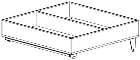 Nexo GDT-BKM  Dolly Storage Tray for GEO D10 GDT-BKM