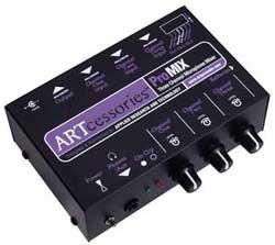 ART PROMIX 3 Channel Microphone Mixer PROMIX