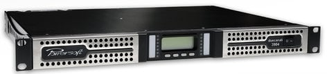 Powersoft Advanced Tech Duecanali 3904 DSP + AESOP 2-Channel Power Amplifier with DSP + AESOP Ethernet Interface DUECANALI-3904-DSP