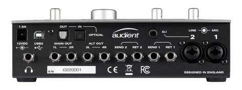 Audient iD22 AD/DA Interface & Monitoring System ID22