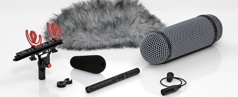 DPA Microphones 4017B-R  Shotgun Microphone with Preamp & Rycote® Windshield 4017B-R