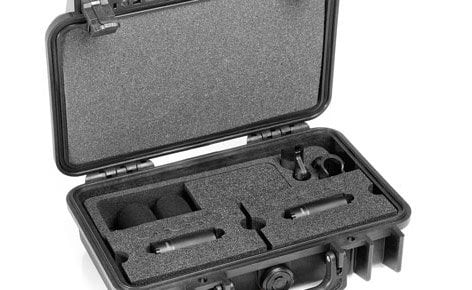 DPA Microphones ST2006C Stereo Matched Pair of 2006C Compact Omidirectional Microphones ST2006C