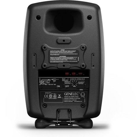 "Genelec 8040BPM 6.5"" 2-Way Bi-Amplified Powered Monitor, Producer Black 8040BPM"