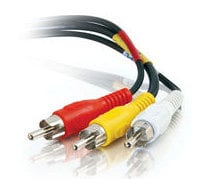 Cables To Go 40448 6 ft. Value Series Composite Video + Stereo Audio Cable 40448-CTG