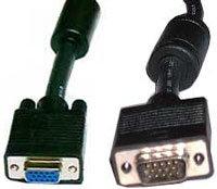 TecNec VGA-MF-100 VGA Cable, Male - Female (100 feet) VGA-MF-100