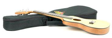 Kala Brand Music Co. KA-SSTU-C Solid Spruce Travel Concert Ukulele with Gig Bag KA-SSTU-C