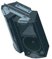 Apogee Sound (Bogen) 106-2140  Adjustable Rigging Beam for Apogee AFI-3, AFI-4 Loudspeakers 106-2140