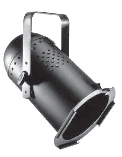Altman PAR64-AL-BLK Par64 Light Fixture in Black Aluminum PAR64-AL-BLK