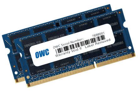 OWC OWC1333DDR3S16P  16GB Memory for 2011 Macbook Pro OWC1333DDR3S16P