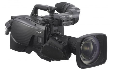 Sony HDC-2570 Multi-Format HD Portable System Camera with Digital Triax Transmission Interface HDC2570