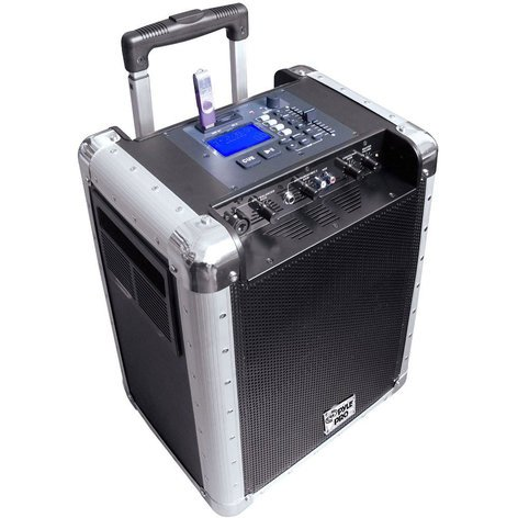 """Pyle Pro PCMX265B  8"""" Portable PA System with MP3 and DJ Efffects PCMX265B"""