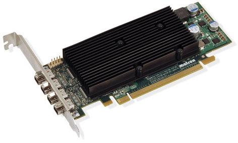 Matrox M9148-E1024LAF LP PCIe x16 Quad Graphics Card M9148-E1024LAF
