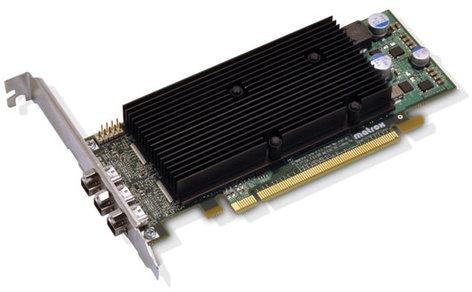 Matrox M9138-E1024LAF LP PCIe x16 Triple Graphics Card M9138-E1024LAF