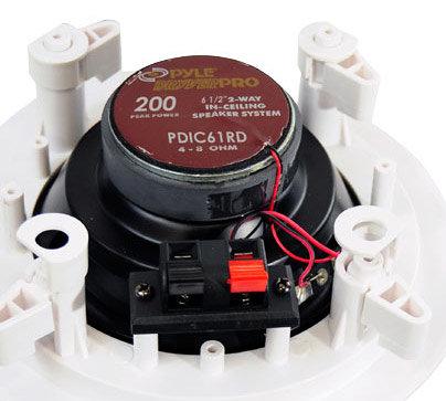 "Pyle Pro PDIC61RD  2-Way 6.5"" Ceiling Speaker, pair PDIC61RD"