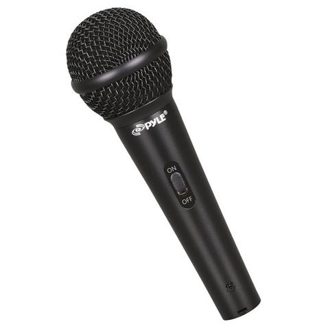 Pyle Pro PDMICKT80 Dynamic Cardioid Handheld Microphone with Clips PDMICKT80
