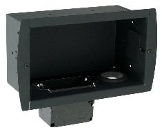 Premier GB-INWAVPB In-Wall Cable & Power Gear Box in Black GB-INWAVPB